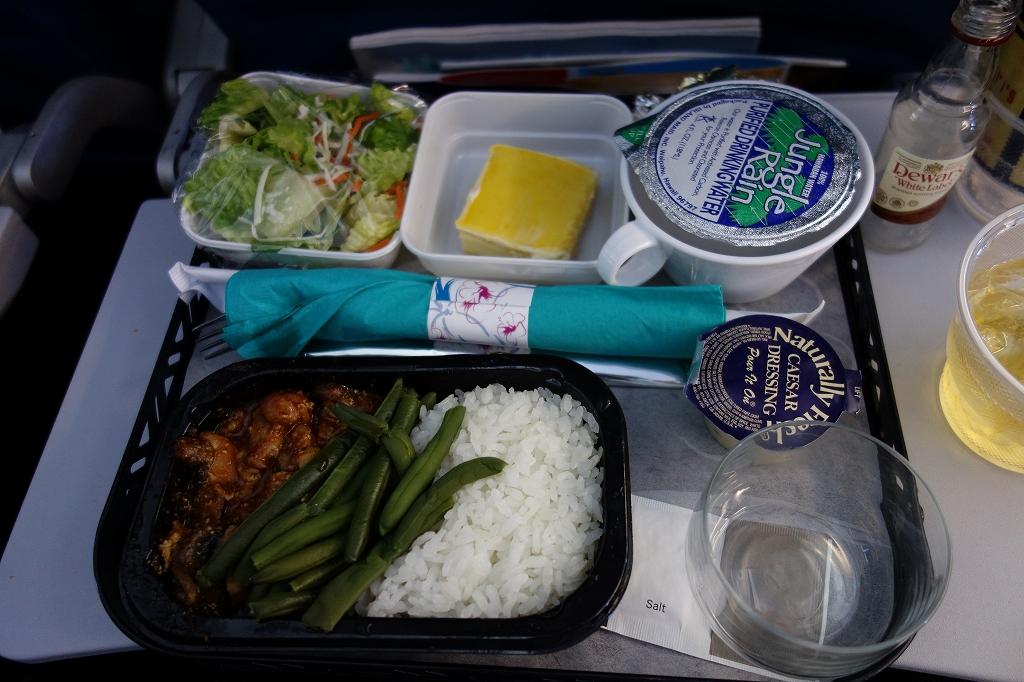 ハワイアン航空 HA449の機内食 〔ホノルル – 関西〕
