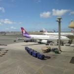 ハワイアン航空 HA450の機内食 〔関西 – ホノルル〕