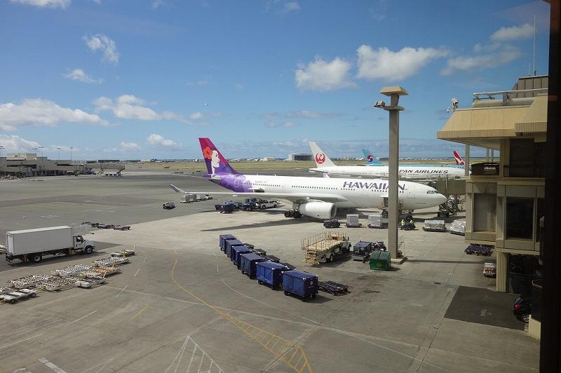 ハワイアン航空 HA450の機内食 〔関西 - ホノルル〕