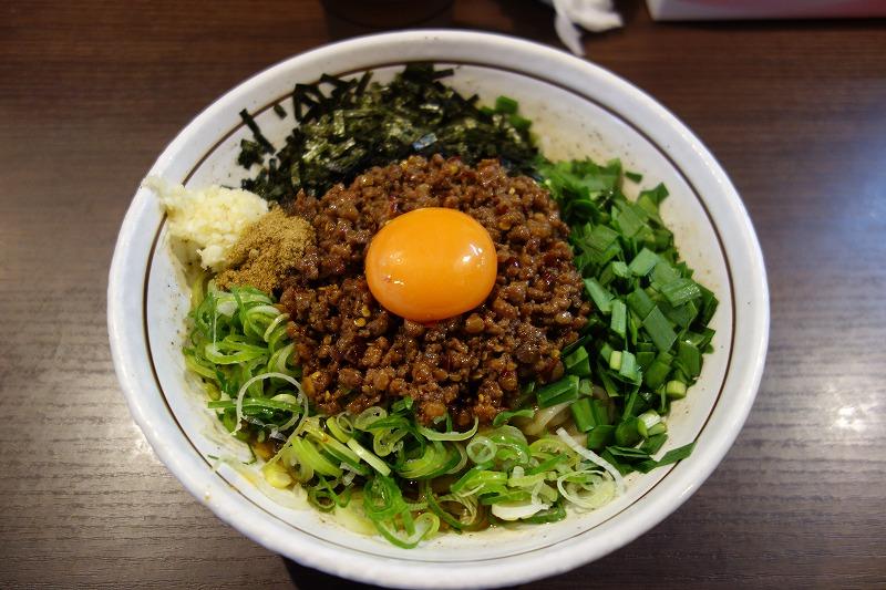 名古屋「麺屋はなび」で台湾まぜそばを食べる