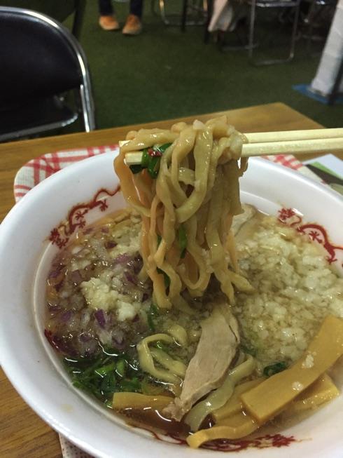 京都の人気店【セアブラノ神】が来たー!〈福岡ラーメンショー2015〉