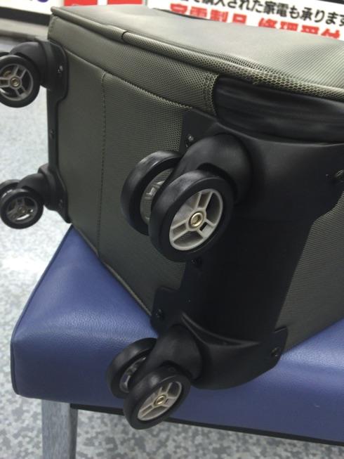 【修理完了】パスファインダーのスーツケースPF2418が壊れたので、修理をお願いしてみた。