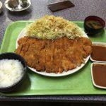 福岡デカ盛り【とんかつ大将】でジャンボとんかつを完食です!