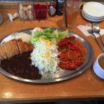 大人気ハイセンス食堂【キッチン中田中】で大盛りオリエンタルライスを食べる