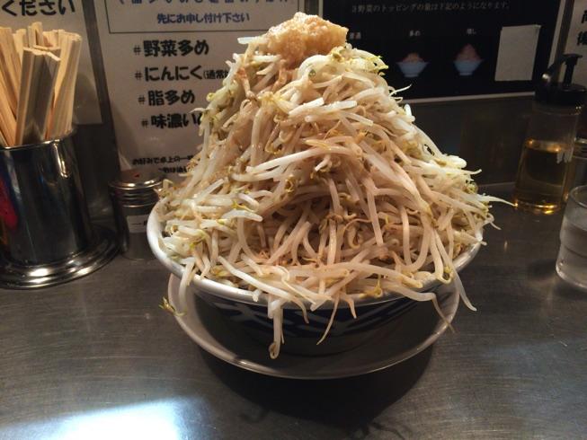 【福岡大橋らーめん大】1日限定6杯野菜増し増しラーメンに挑戦してきました。