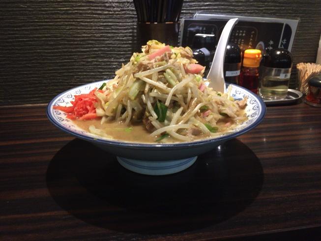 (閉店)【天神ランチ】井手ちゃんぽんで野菜大盛りちゃんぽんに挑戦!
