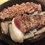【豚ステーキ十一(といち)赤坂店】黒こしょう香るレア豚ステーキが激ウマでした。