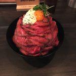 【レッドロック博多大名店】行列ができるローストビーフ丼を食べてきました