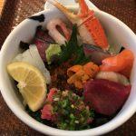 【海鮮丼 日の出】福岡長浜市場買い付けのスペシャル海鮮丼を味わいました。