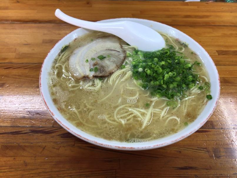 【一九ラーメン 大橋店】白湯のような優しすぎるとんこつラーメンに驚きました。
