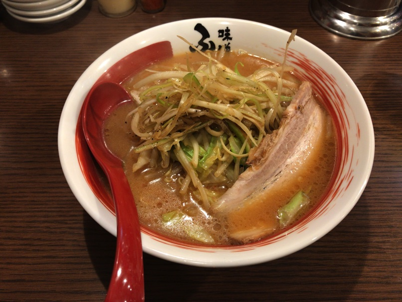 【味噌蔵ふくべえ】モチモチ玉子麺採用味噌ラーメンと味噌だれ肉餃子が美味しいお店。