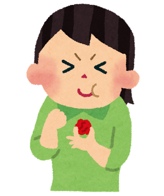Food umeboshi girl