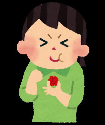 Food umeboshi girl