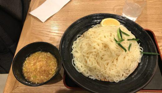 【因幡うどん ソラリアステージ店】メガ盛り博多細うどんをゴマだれスープでらくらく完食!