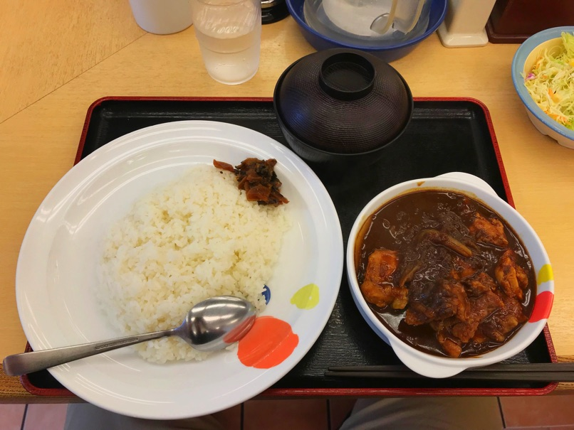 Matsuya chickencurry 22