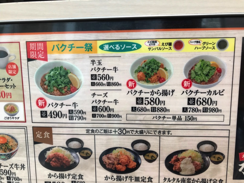 Yoshinoya pactee 2