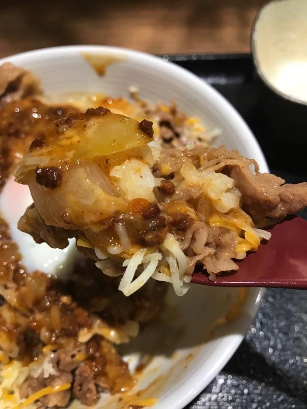 Yoshinoya cheeseBolognese11