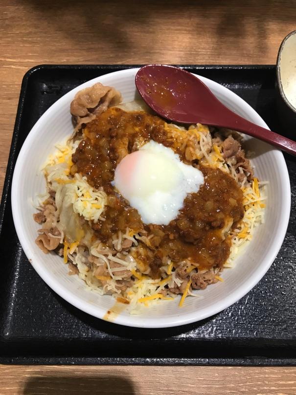 Yoshinoya cheeseBolognese9