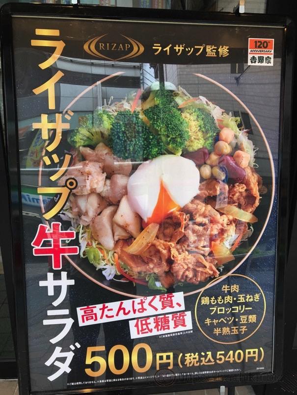 Yoshinoya rizap 2