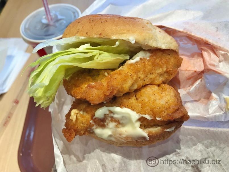 KFC chickenfilet 8