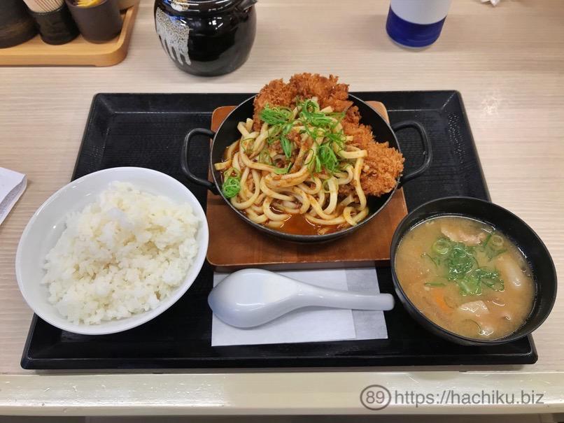 Katsuya curryudon chicken 5