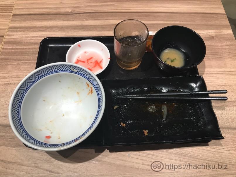 Yoshinoya Wteisyoku 21