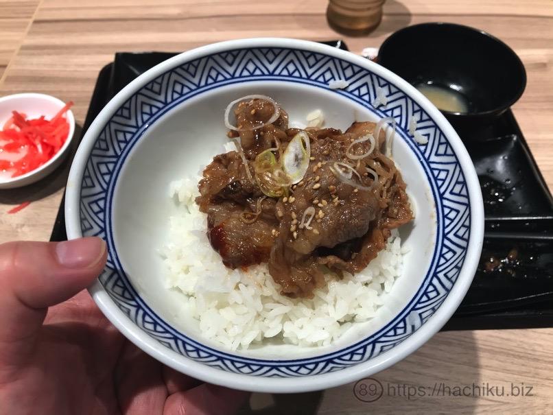 Yoshinoya Wteisyoku 23