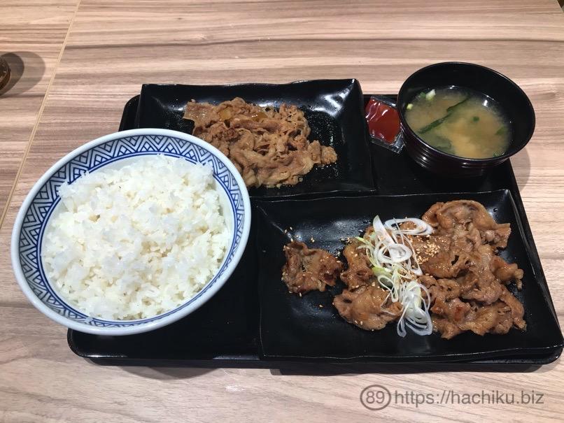 Yoshinoya Wteisyoku 3