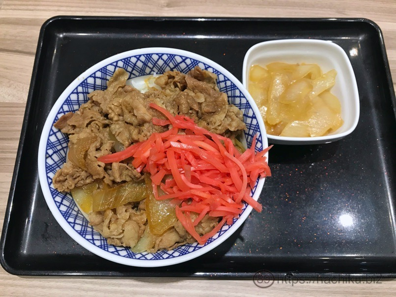 Yoshinoya negidaku 2