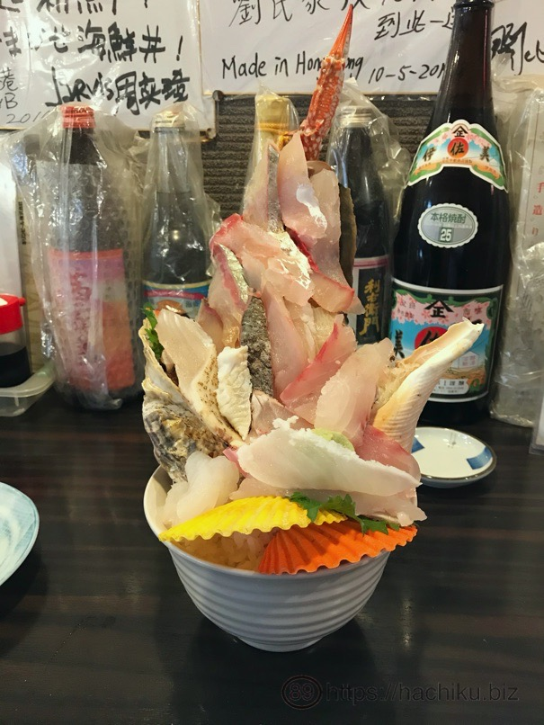 3D 海鮮丼